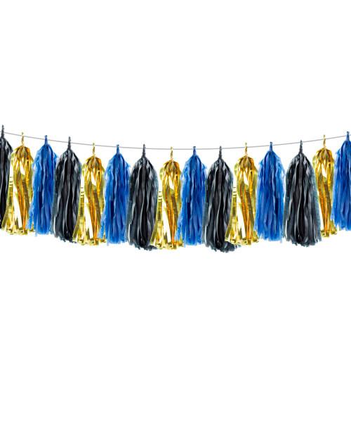 (15 Tassels Pack) Tassels Garland DIY Kit (15 Tassels) - Graduation Theme