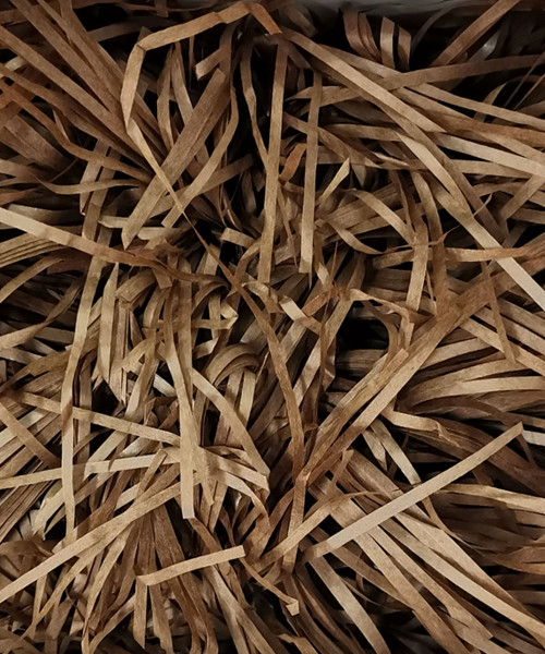 Shredded Paper Fillers (100g) - Coffee Brown