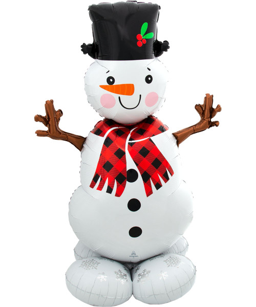 [Merry Christmas] Snowman Greeter Airloonz (55inch)
