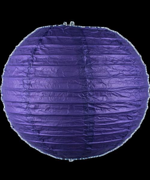 Paper Lantern (20cm) - Dark Purple