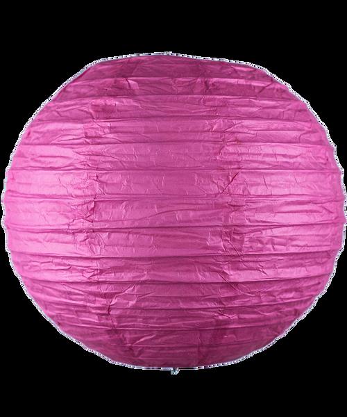 Paper Lantern (20cm) - Hot Pink