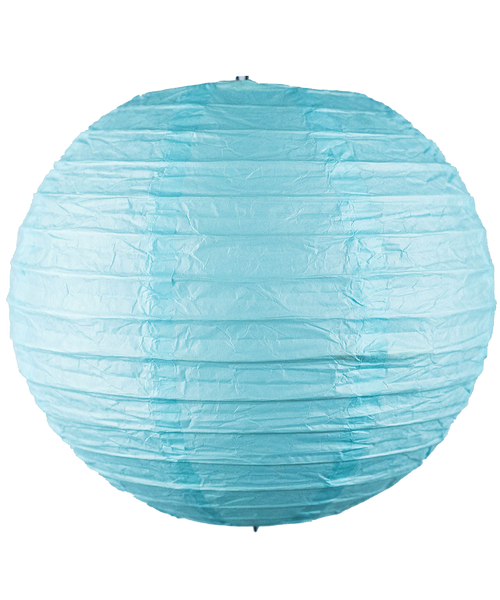 Paper Lantern (30cm) - Baby Blue