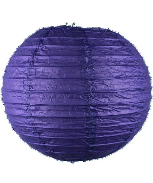 Paper Lantern (30cm) - Dark Purple