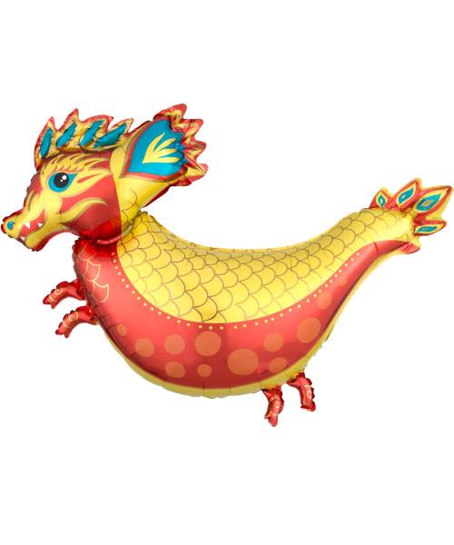 [CNY 2021] Fiery Dragon Foil Balloon (38inch)