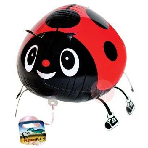 Walking Pet Balloon - Lady Bug