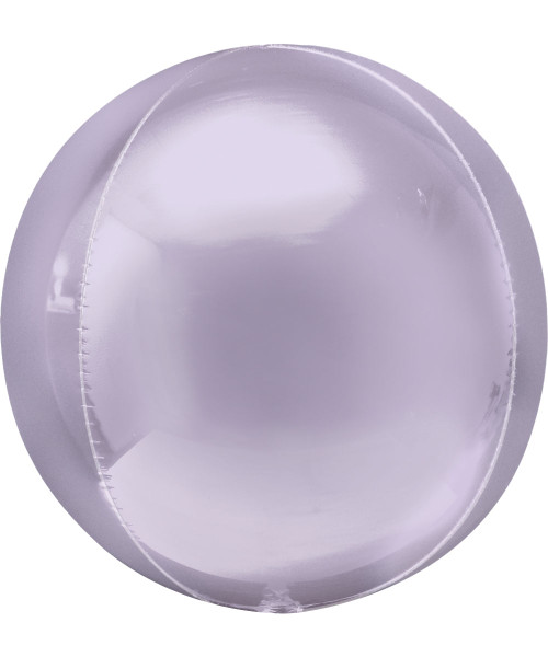 """[Orbz] 16""""/41cm Sphere Shaped Balloon - Pastel Lilac"""