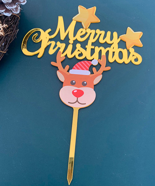 [Merry Christmas] Christmas Cake Topper - Adorable Reindeer