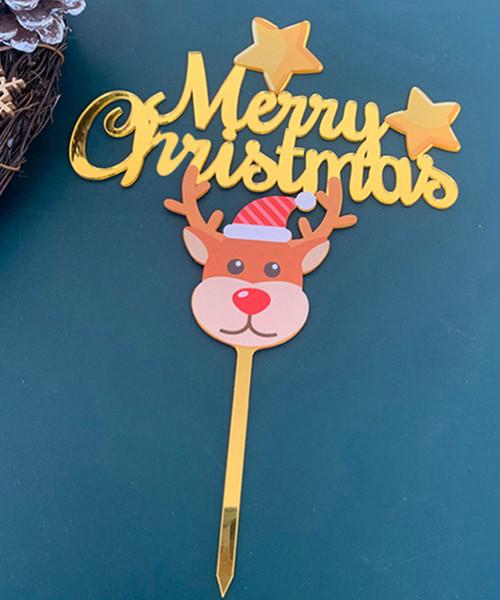 [Merry Christmas] Christmas Cake Topper - Adorable Reindeer