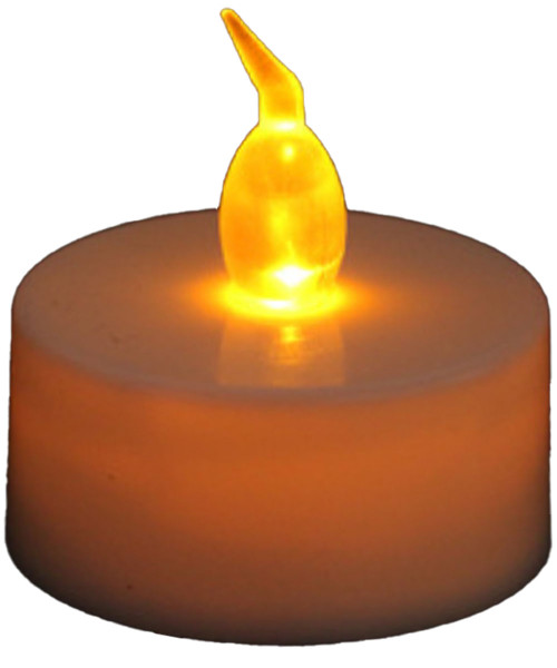 Flameless Candle LED Light - Warm White