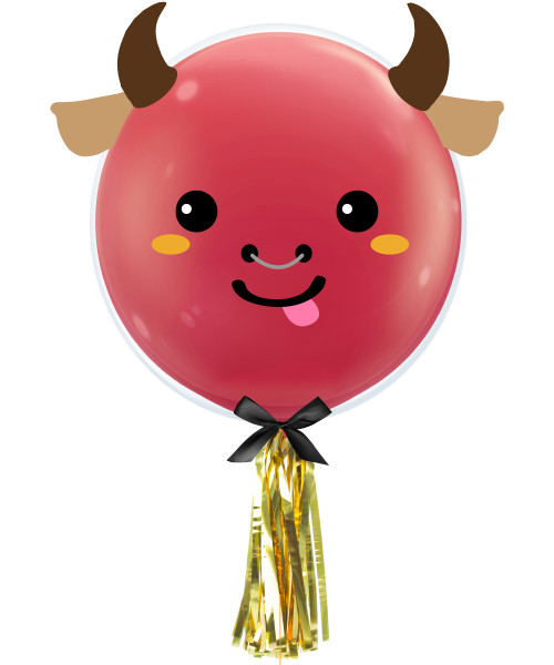 [CNY 2021] Year of Ox 2021 Balloon (20inch)