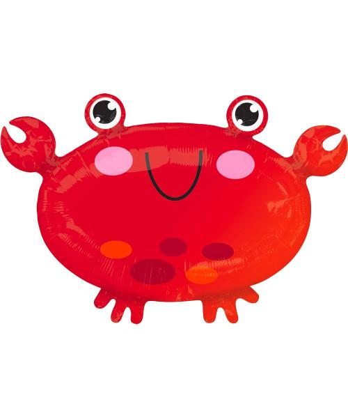 [Sea Creature] Bubbly Sea Creature Foil Balloon (22inch) - Crab