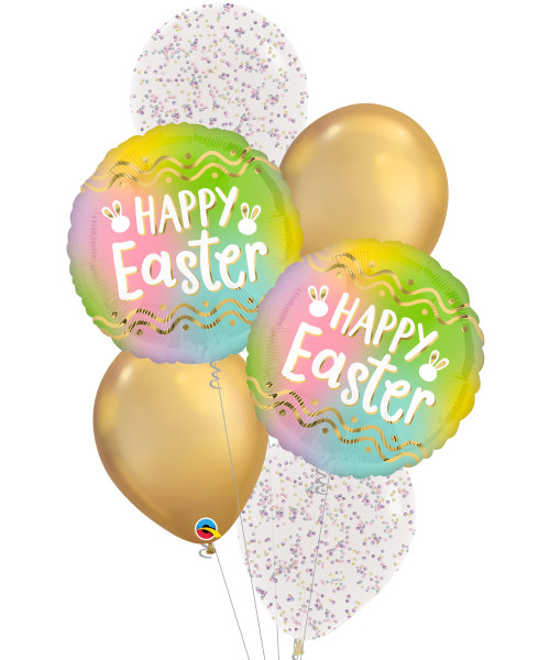 [Easter Blessings] Ombré Easter Marshmallow Sprinkles Balloon Bouquet