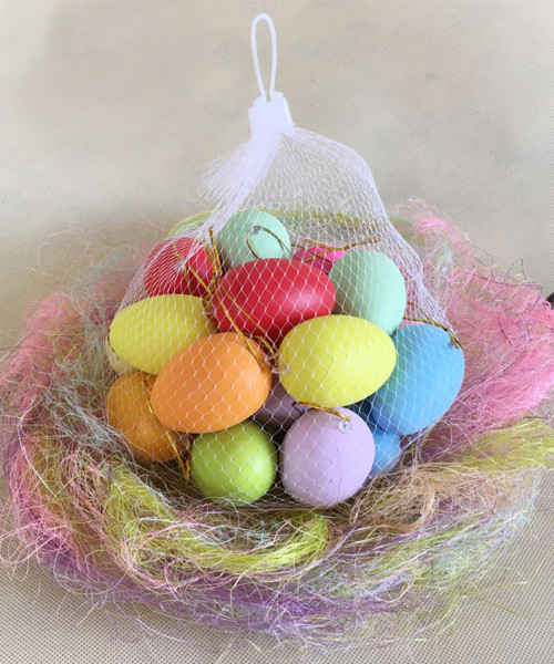 [Easter Blessings] Artificial Decorative Eggs (20 pcs/Set) - Colorful