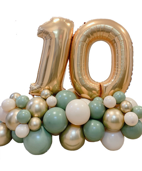 [Birthday] Create your own Birthday Bash Chrome Chalk Matte Balloons Centerpiece