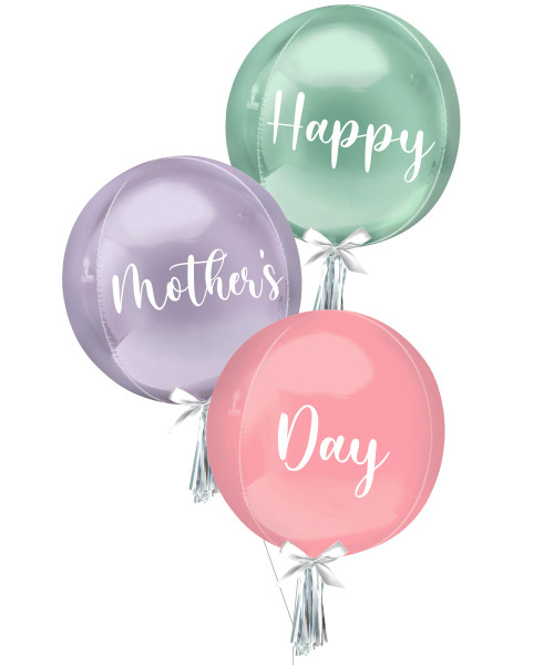[You're Amazing] Personalised Orbz Balloons Bouquet - Happy Mother's Day