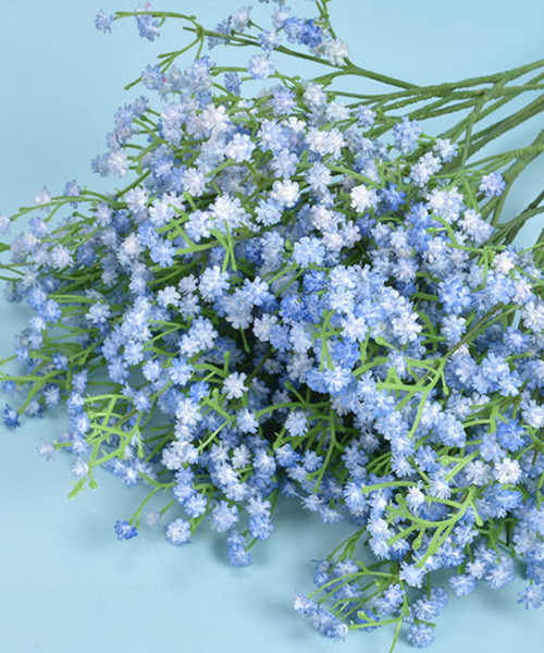 Artificial Baby Breath - Misty Blue