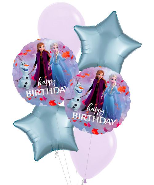 [Party: Frozen] Frozen 2 Happy Birthday Balloons Bouquet