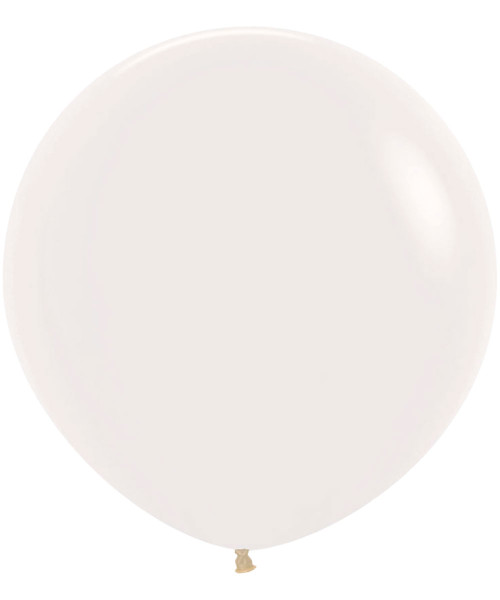 "18"" Fashion Color Round Latex Balloon - Clear Transparent"