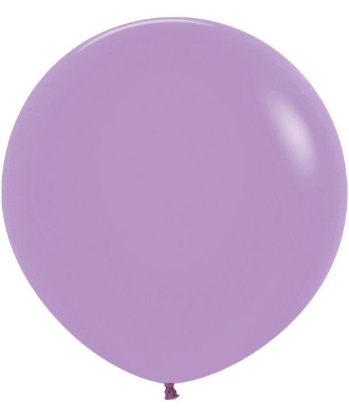 "18"" Fashion Color Round Latex Balloon - Lilac"