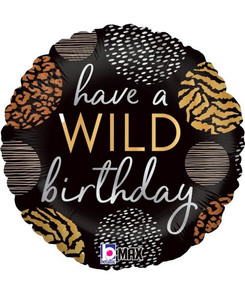 [Party] Wild Birthday Foil Balloon (18inch) (B26131P)