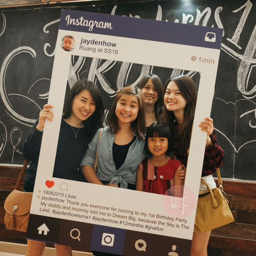 Personalized Instagram Frame Giant Size 2019 Edition Give Fun