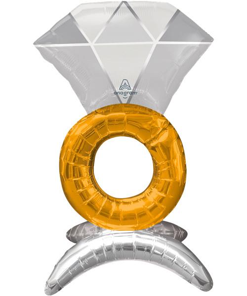 [Wedding] Wedding Ring Balloon (21inch) (A42535)