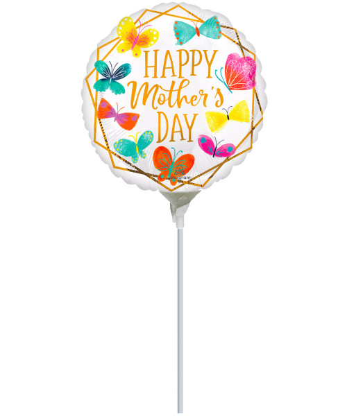 [You're Amazing] HMD Gold Trim Foil Balloon on Stick (9inch) (A42745)