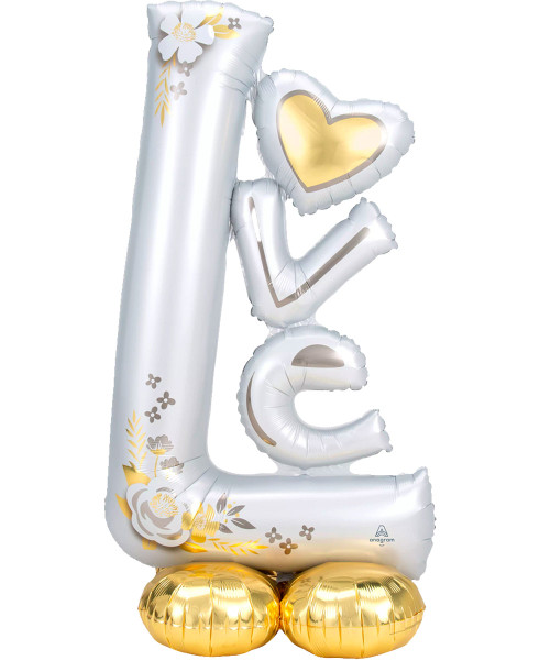 [Love] L-O-V-E Wedding AirLoonz (58inch) (A42465)