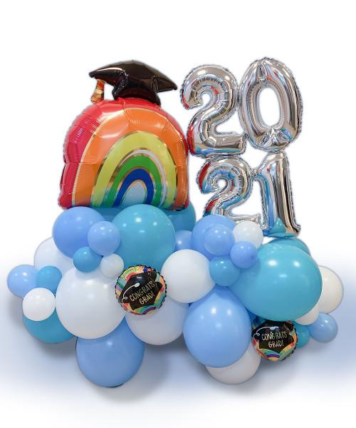 [Graduation] Graduation Balloons Centerpiece - Towards Greater Heights!