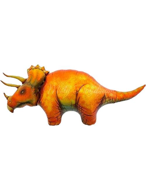 [Dinosaur] Triceratops Foil Balloon (50inch)