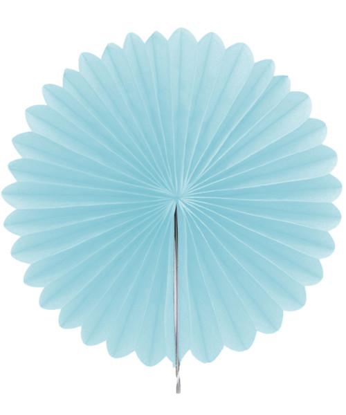 Paper Flower Fan (25cm) - Baby Blue