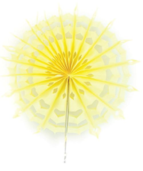 Paper Snowflake Fan (20cm) - Cream