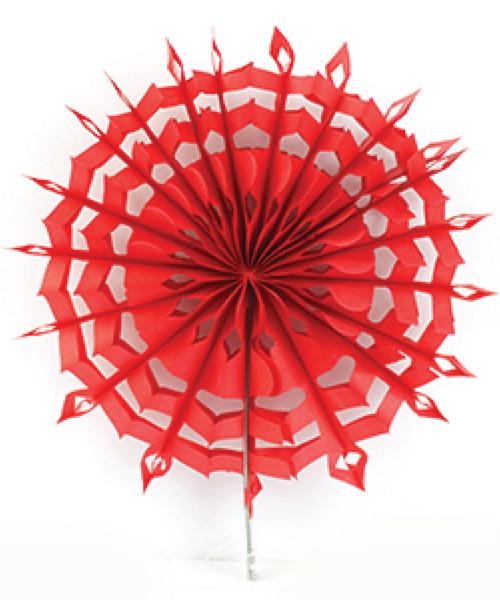 Paper Snowflake Fans (30cm)
