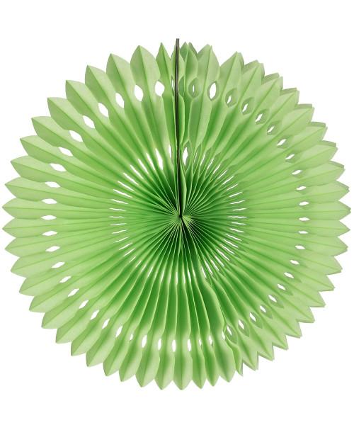 Paper Pinwheel Fan (30cm) - Apple Green