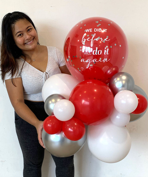 [Together, Our Singapore Spirit] National Day 2021 Balloons Centerpiece - 'The Road Ahead'