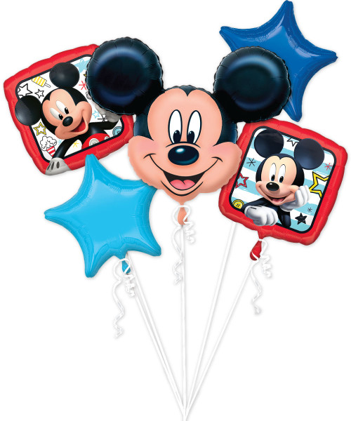 [Mickey & Minnie] Mickey Roadster Racers Balloons Bouquet (A36226)