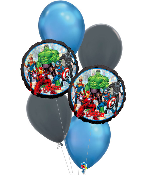 [Avengers] Avengers Marvel Powers Unite Balloons Bouquet