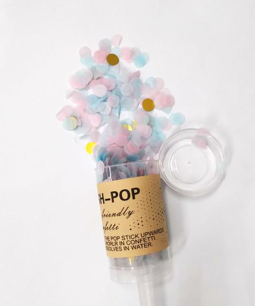Confetti Party Popper (18cm) - Sweet Cupcake