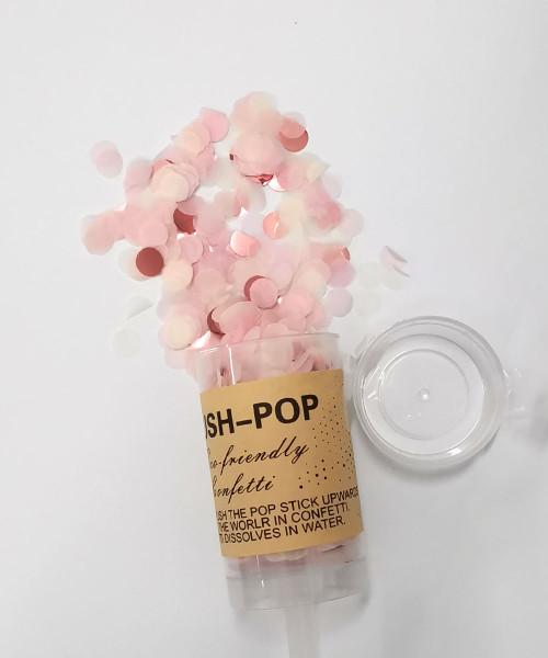 Confetti Party Popper (18cm) - Strawberry Mochi