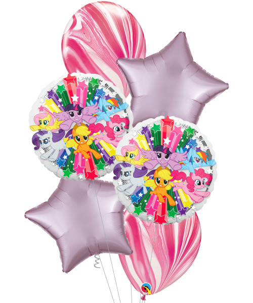 [My Little Pony] My Little Pony Gang Marble Balloons Bouquet