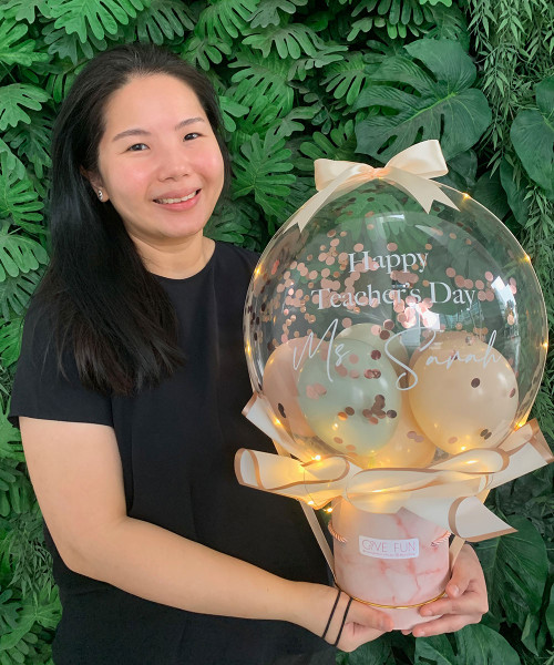 [Gratitude] Happy Teacher's Day Dome Bouquet Box