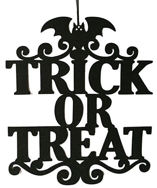 [Halloween] Halloween Hanging Decoration - Trick or Treat (37cm)