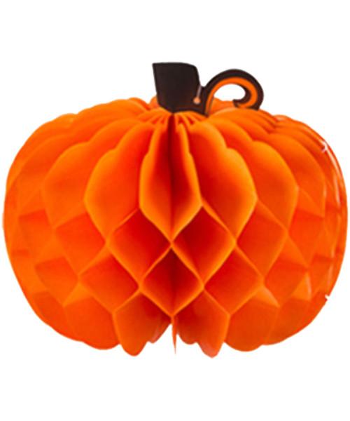 [Halloween] Pumpkin Paper Honeycomb Ball (26cm)
