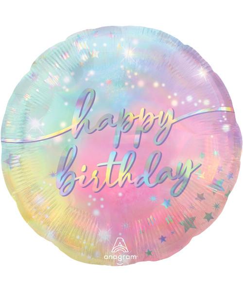 [Party] Luminous Birthday Foil Balloon (18inch) (A42996)