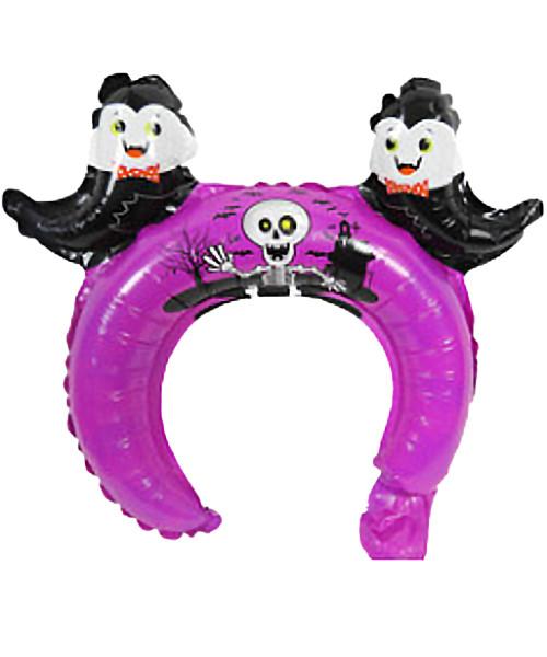Trendy Halloween Balloon Headband - Frightful Ghost