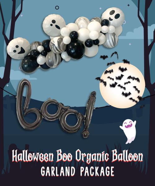 [Halloween] BOO! Spooktacular Cute Ghost Halloween Balloon Package