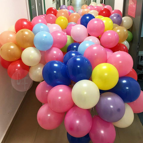 "12"" Standard Fashion Color Round Latex Balloons"