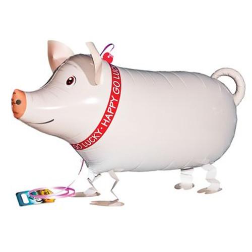 Walking Pet Balloon - Pig