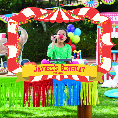 Carnival/Circus Themed Photobooth Frame - Giant