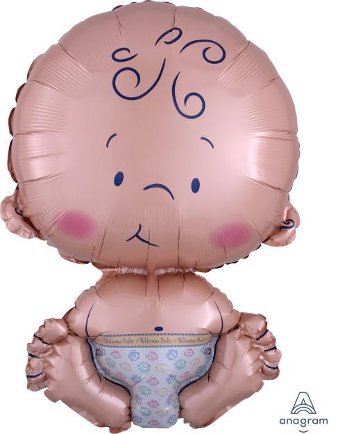 Newborn Baby Foil Balloon (24inch)